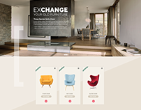Exchange Products Page : Quick Task for Urban Ladder