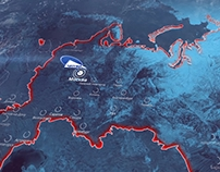3d map animation - OPTIM Company