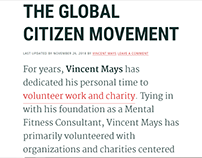 The Global Citizen Movement - Vincent Mays