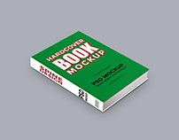 PSD Harcover Book Mockup Free