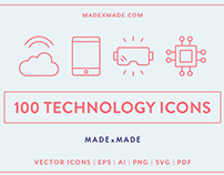 Line Icons – Technology Made by Made Made