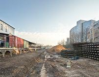 Stadt-Natur-Park Flingern Under Construction