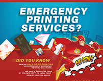 Emergency Printing Promo Campaign for HPP