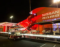 Nissan Nismo at Le Mans 2015 - hospitality