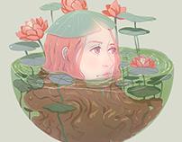 Lotus girl