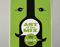 Art of the Mix Event Poster