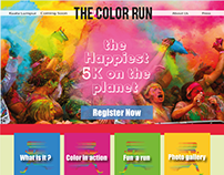 """Website redesign for """" The Color Run """" Malaysia"""