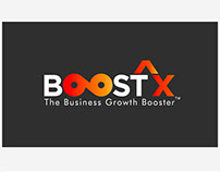 BoostX - Logo Design