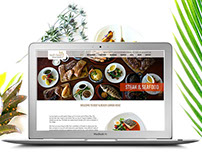 Beef & Beach Restaurant Website