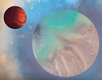 Motion Design Planets