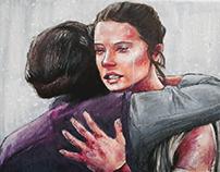 Rey & Leia