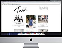 Website Redesign: Twin Magazine