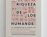 """""""La riqueza de los humanos"""" book cover"""