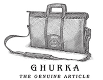 Ghurka Ads illustrated by Steven Noble