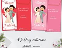 Cute Customized Wedding Money Envelope by Artemoi