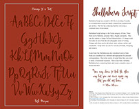 Homage to a Font