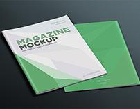 17 Magazine Mockup PSD's Vol. 4