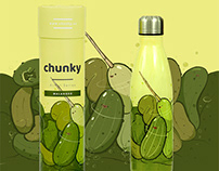 Sea of Pickles x Chunky Bottles