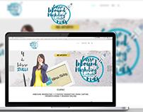 Diseño imagen corporativa y web/landingpage Vilma Nuñez