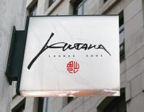 Logo Restaraunt Kitana (Moscow) + process