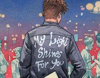 LP cover illustration