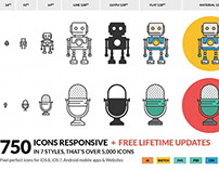 Responsive Icons for IOS and Android