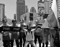 Manifestaciones en Caracas 4 de abril de 2017
