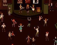 A bar-themed game concept