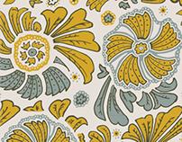 AW15 Paisley Folk Print
