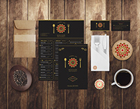 Mazaar Restaurant Branding Identity