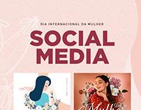 Social Media - Dia Internacional da Mulher