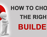 How to Choose the Right Builder?