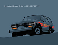 Toyota Land Cruiser 60 GX '1987–89