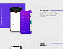 Profile UI Concept