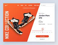 E-commerce shop for Nike