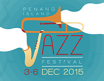 Website Redesign : Penang Island Jazz Festival