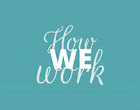 How We Work - Motion graphic