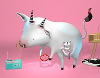 Sandra & Tanino - Proyecto Serie animada