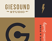 Identity Giesound studio