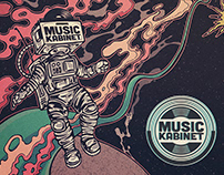Music Kabinet - Various Illustrations