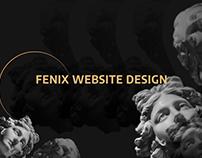Fenix Restaurant Website Design