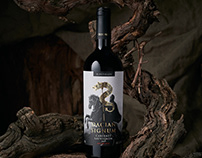 DACIAN SIGNUM wine label
