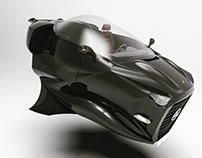 Mercedes Hovercraft Concept
