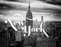 Typographic New York City