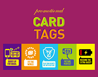 Promotional Card Tags