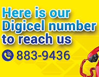 Magna Jamaica Observer print ad