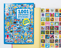 1001 Awesome Stickers for Boys