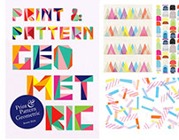 Print and Pattern Book Geometric by Laurence King