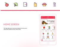 Online Mobile Grocery APP UI/UX