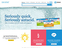 Digene India Website